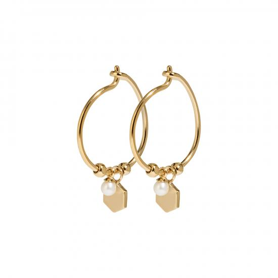 CLJ51002_Essentielle-Gold-Hexagon-and-Pearl-Charm-Hoop-Earrings_w