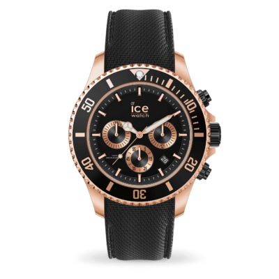 ICE WATCH ICE STEEL BLACK ROSE-GOLD