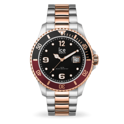 ICE WATCH ICE STEEL CHIC SILVER ROSE-GOLD