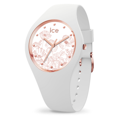 ICE WATCH FLOWER SPRING WHITE