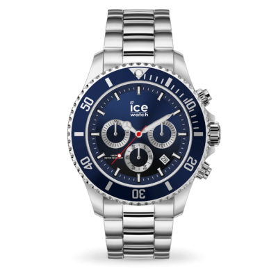 ICE WATCH-ICE STEEL MARINE SILVER