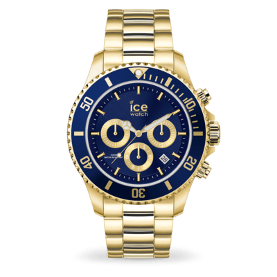 ICE WATCH-ICE STEEL GOLD BLUE