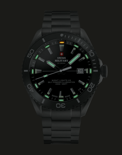 SWISS MILITARY NIGHT LIGHTS SPECIAL EDITION