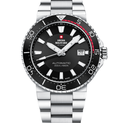 Swiss Military Automatic Dive Watch 200M